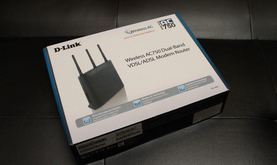 D-Link DSL-3682 - Recensione