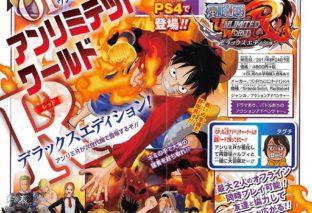 Annunciato One Piece: Unlimited World Red Deluxe Edition su PS4 e Switch