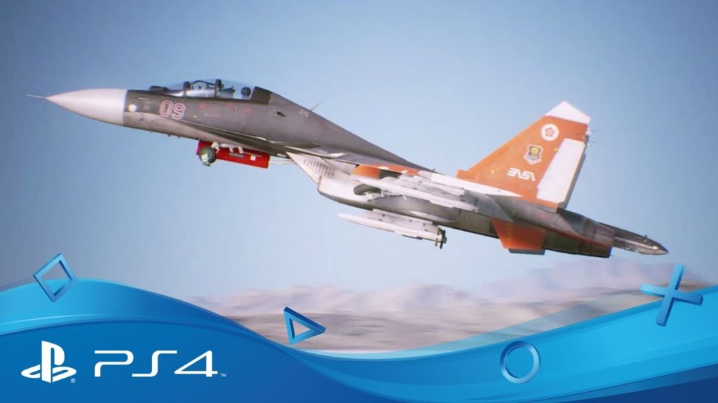 Ace Combat 7 Skies Unknown è stato rimandato al 2018