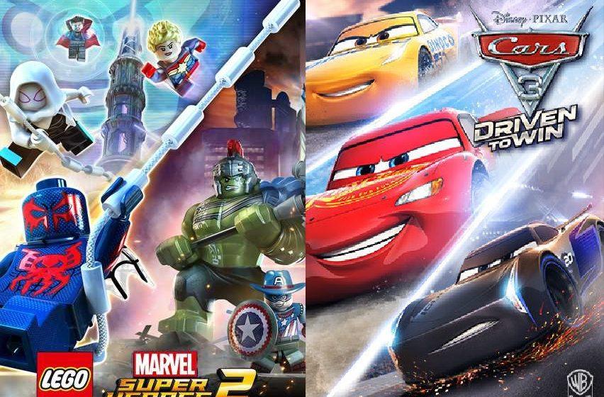 Lego Marvel Super Heroes 2 e Cars 3 - Provati