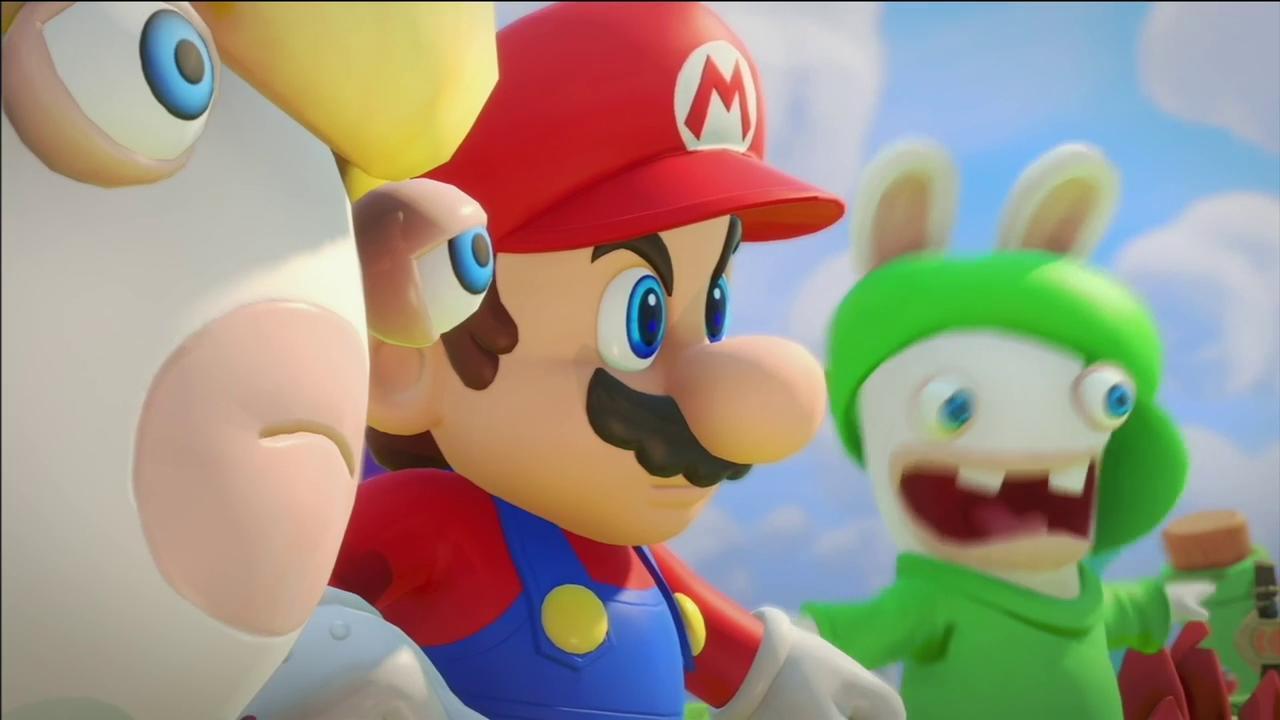 Annunciato Mario + Rabbids: Kingdom Battle, Miyamoto alla conferenza Ubisoft 10