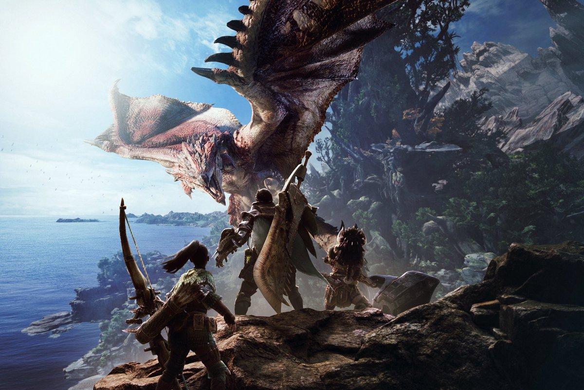 Monster Hunter World Anteprima E3