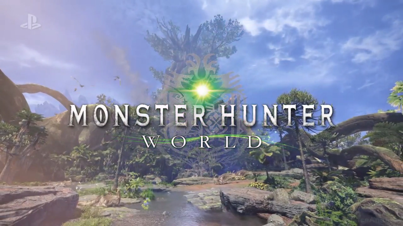 Ecco il primo trailer di Monster Hunter World