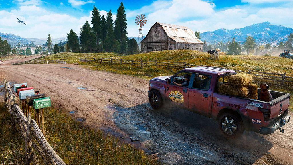 mappe del mondo in Far Cry 5 e Assassin's Creed Origins