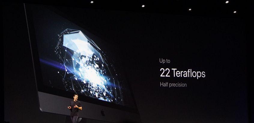 WWDC17: Apple presenta l'IMac Pro, fino a 22 Teraflops