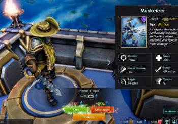 Minion Masters: rilasciato il Moschettiere!