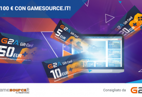 Contest: Vinci 100 Euro di GiftCard G2A