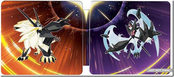 Risultato immagine per pokemon ultrasole e luna steelbook