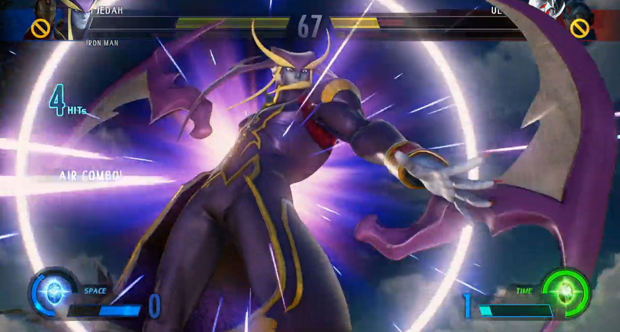 Marvel vs Capcom Infinite Jedah