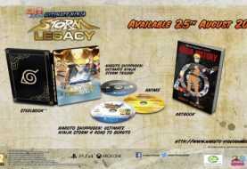 Naruto Ultimate Ninja Storm Legacy e Trilogy in arrivo il 25 Agosto in Europa