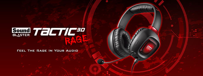 Creative Sound Blaster Tactic3D Rage USB V2.0 - Recensione