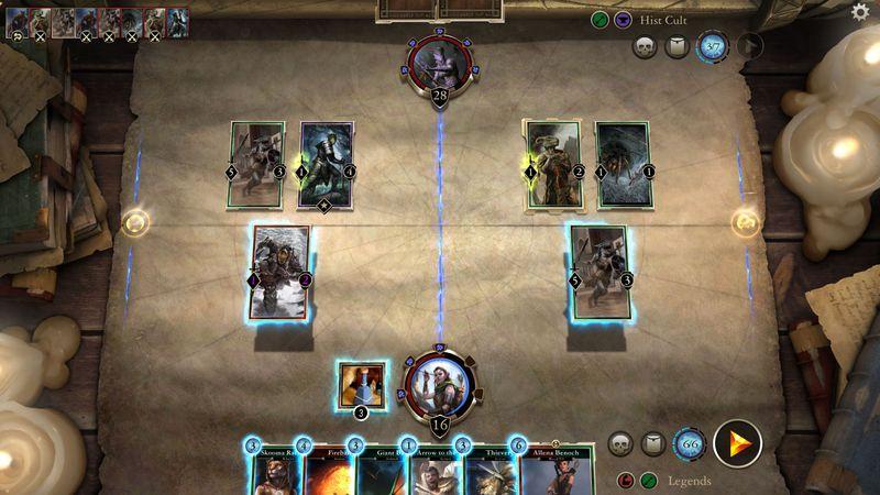 The Elder Scrolls Legends: Eroi di Skyrim
