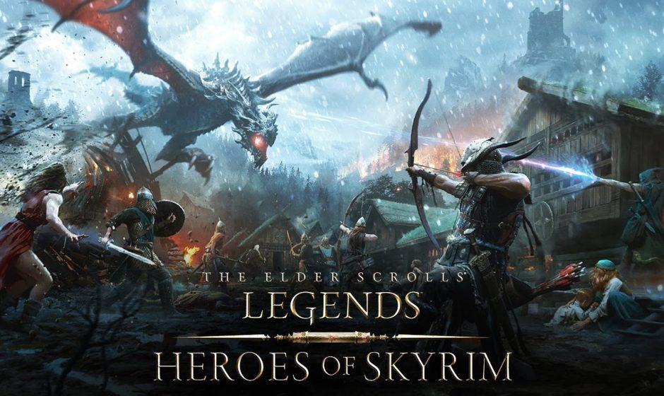 The Elder Scrolls Legends: Eroi di Skyrim - Recensione