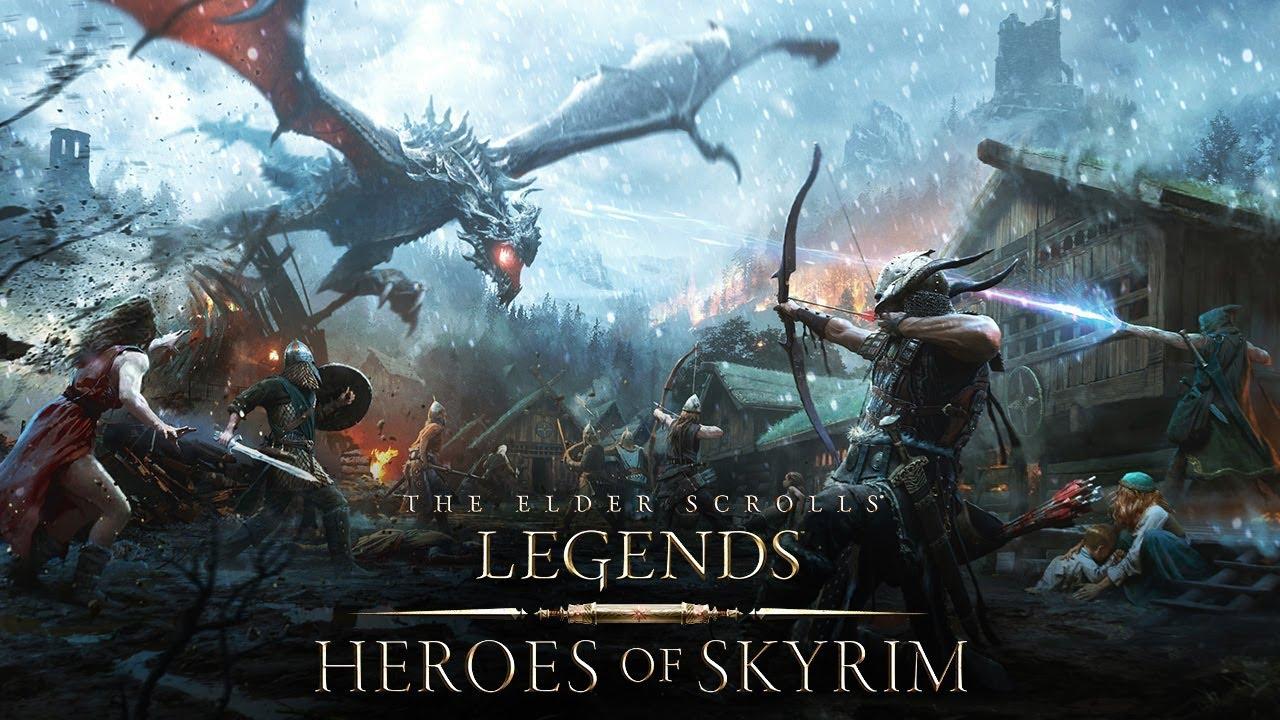 The Elder Scrolls Legends: Eroi di Skyrim – Recensione