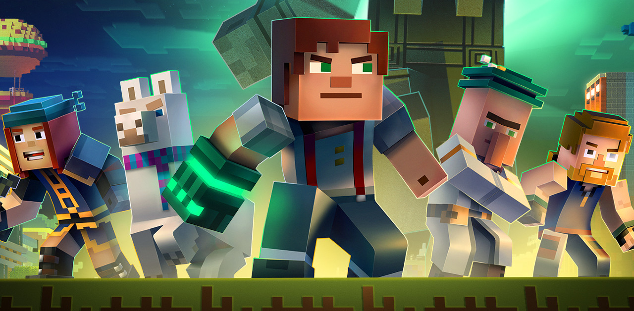 Minecraft: Story Mode – Season Two – Ep. 1: Hero in Residence