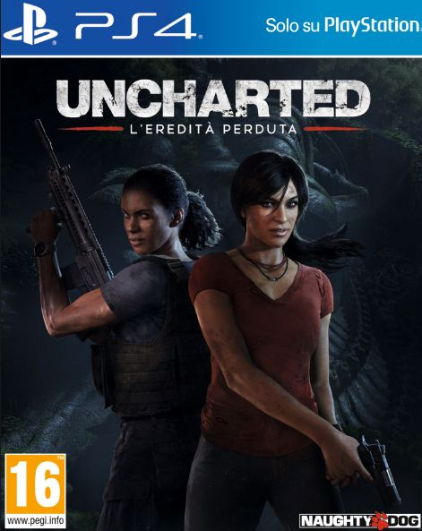Cover Uncharted: L'Eredità Perduta