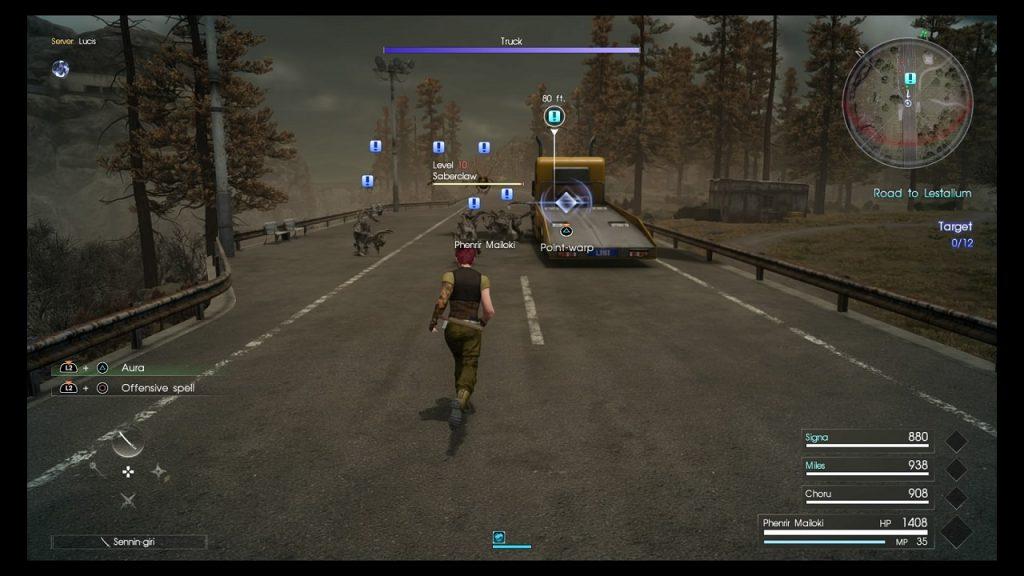 Final Fantasy XV Comrades data