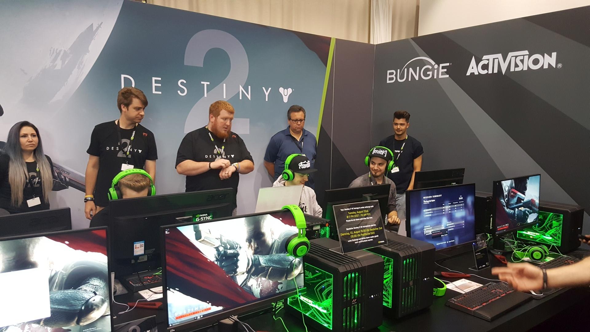 Gamescom 2017: Destiny 2 Beta PC – Provato