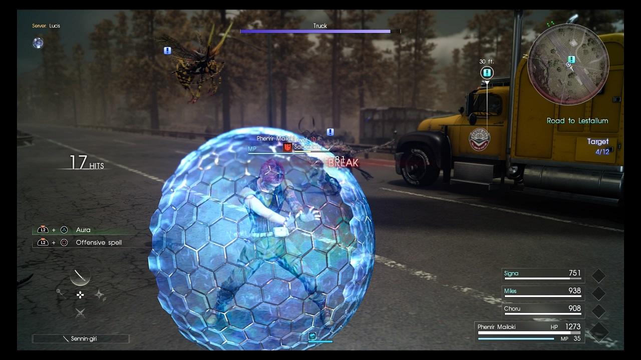 Un nuovo set di immagini celebra l'uscita dell'espansione multigiocatore Comrades di FFXV