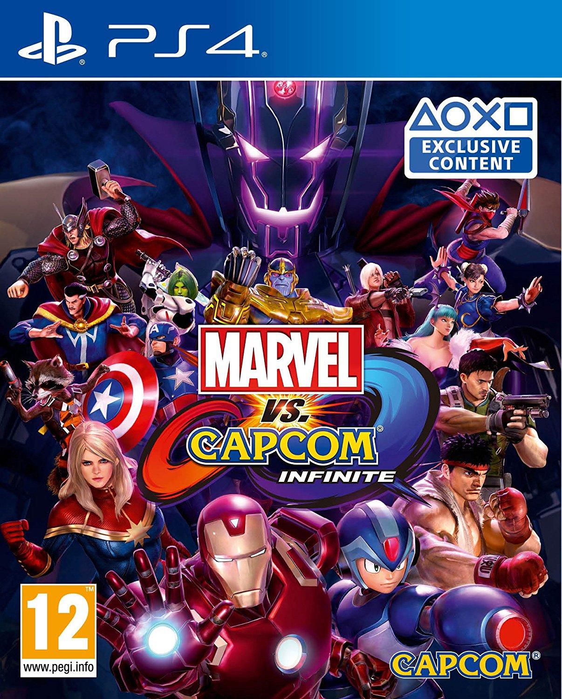 Cover Marvel VS Capcom Infinite