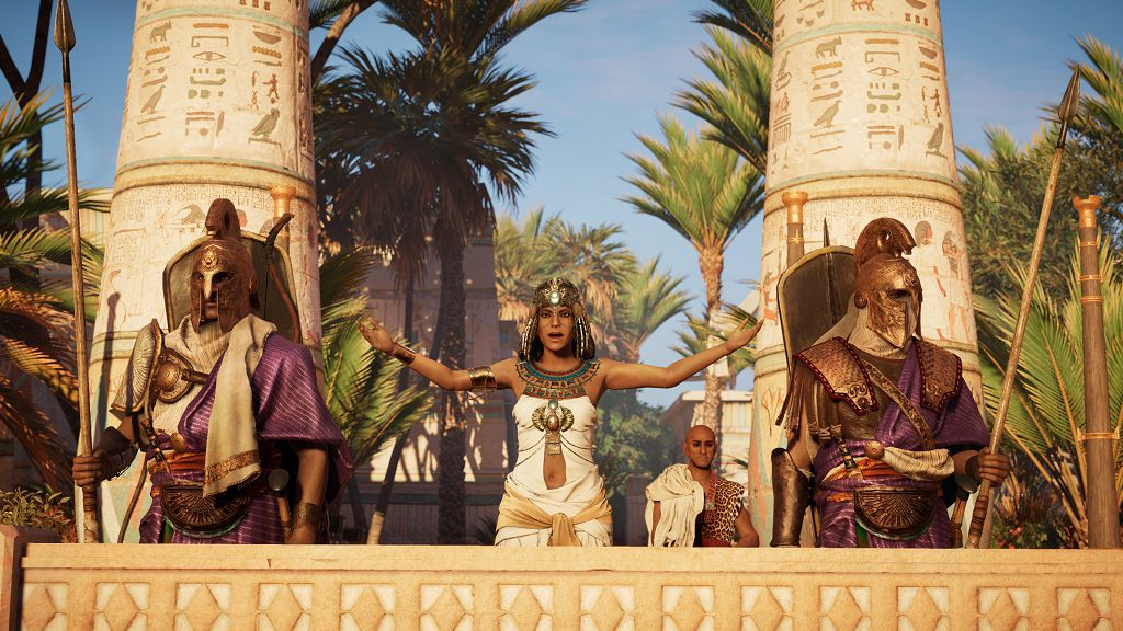 Assassin's Creed Origins: un video mostra una versione potenziata di Bayek