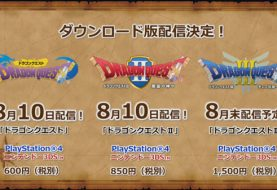 Dragon Quest I, II, III su PS4 e 3DS - immagini e video