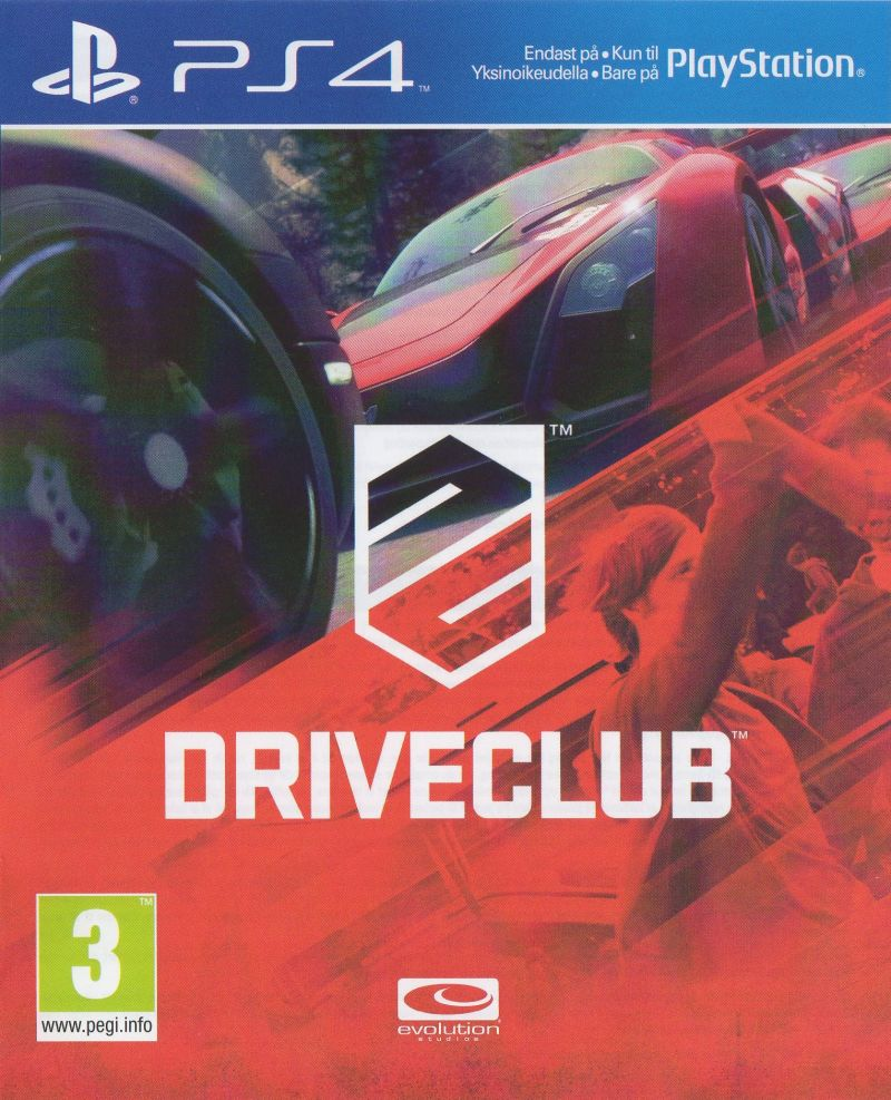 Cover DRIVECLUB
