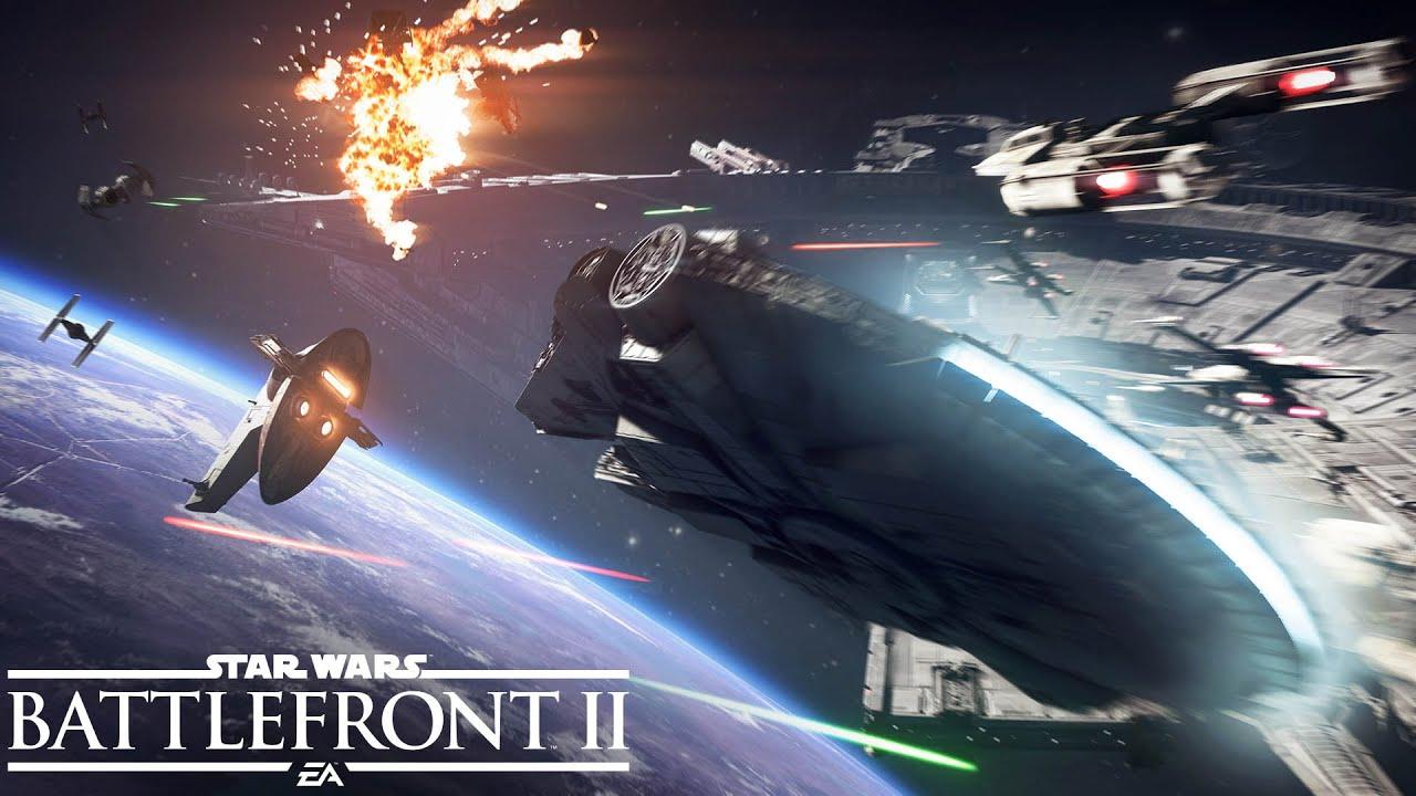 Star Wars: Battlefront II, trapelato in rete un trailer sulle battaglie spaziali