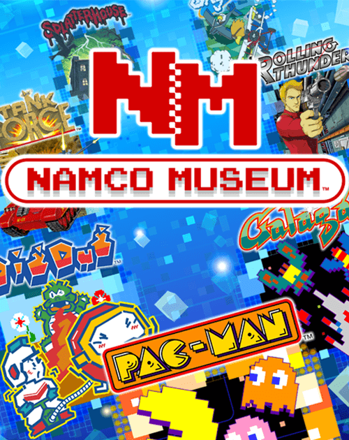 Cover NAMCO MUSEUM