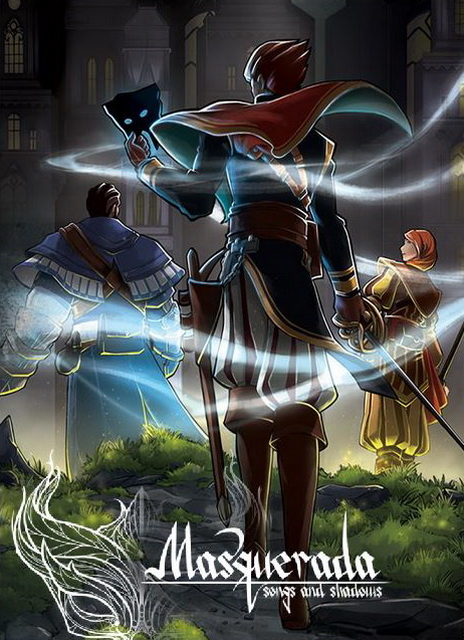 Cover Masquerada: Songs and Shadows