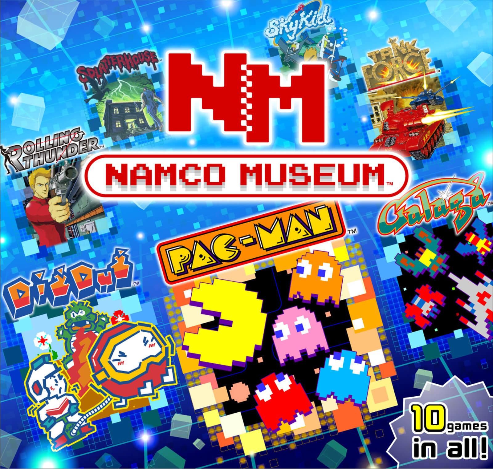 NAMCO MUSEUM – Recensione