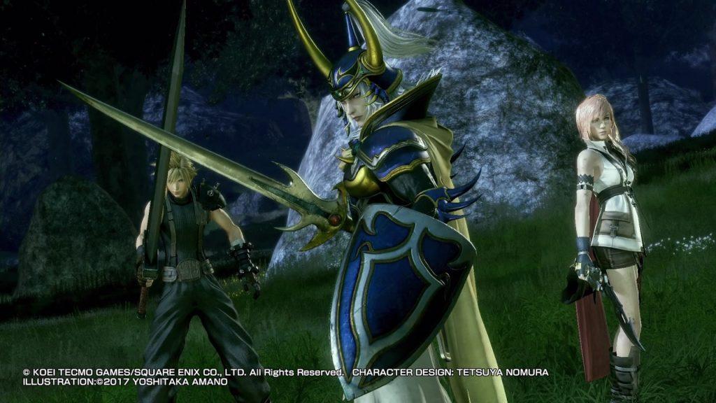 Dissidia Final Fantasy NT rimane un'esclusiva PS4 per ora