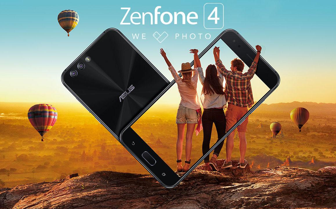 ZenFone 4, presentata la nuova famiglia di smartphone ASUS