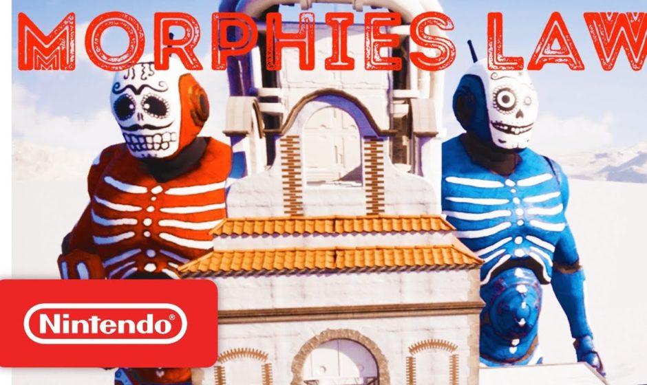 Nuovo trailer di Morphies Law mostrato nel Nintendo Direct