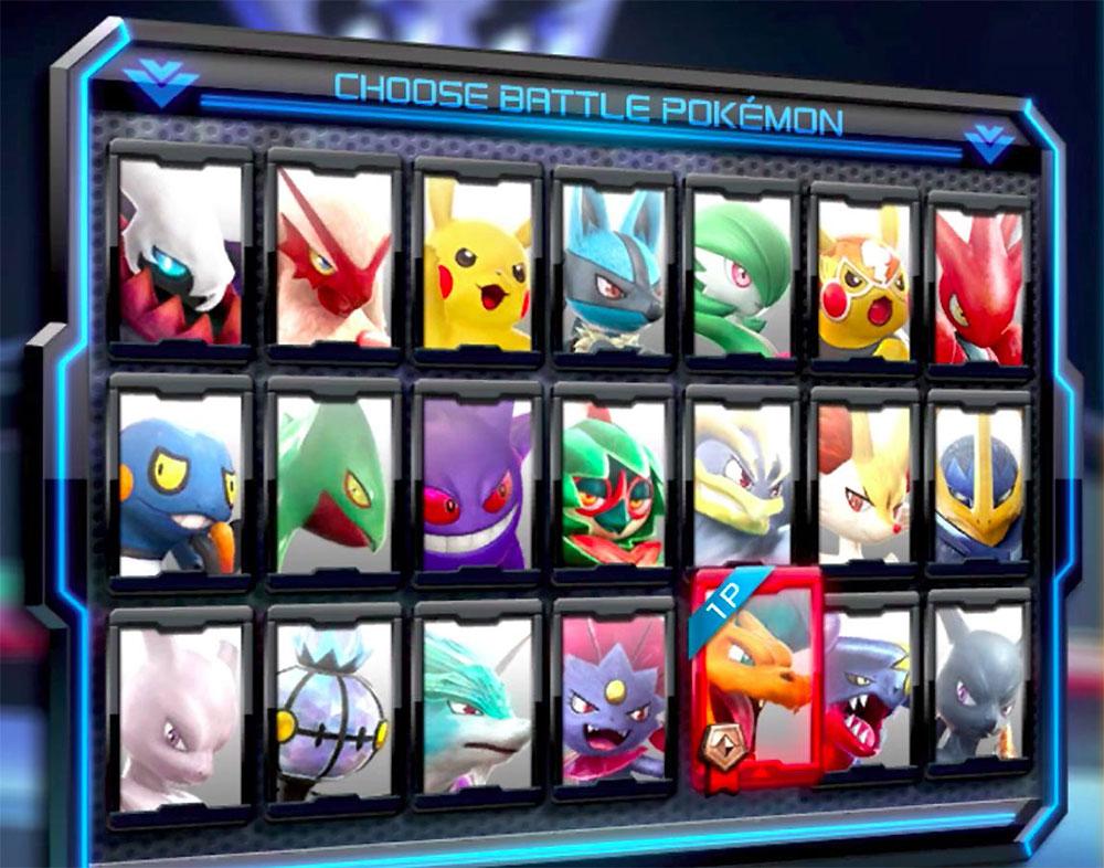 Pokken Tournament DX - Recensione roster
