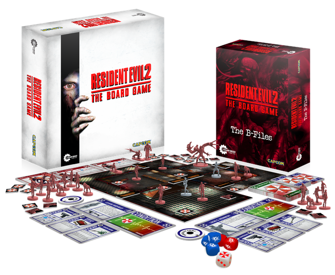 Resident Evil 2 The Board Game 2