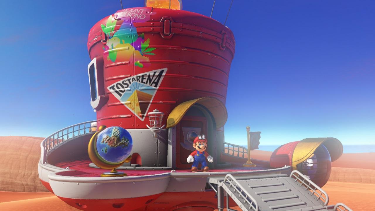 Super Mario Odyssey Si Mostra Nel Nintendo Direct Gamesource