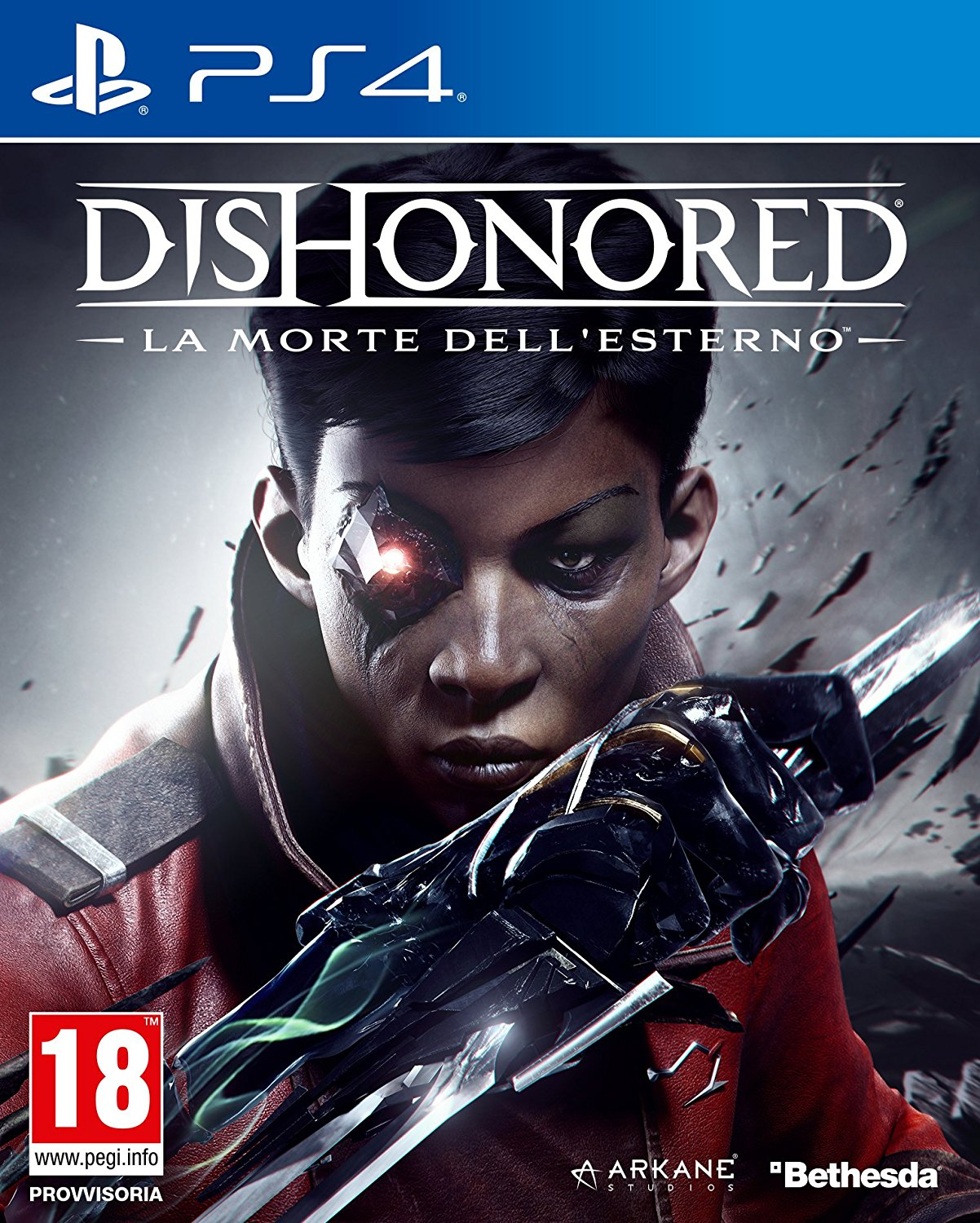 Cover Dishonored: La morte dell'Esterno