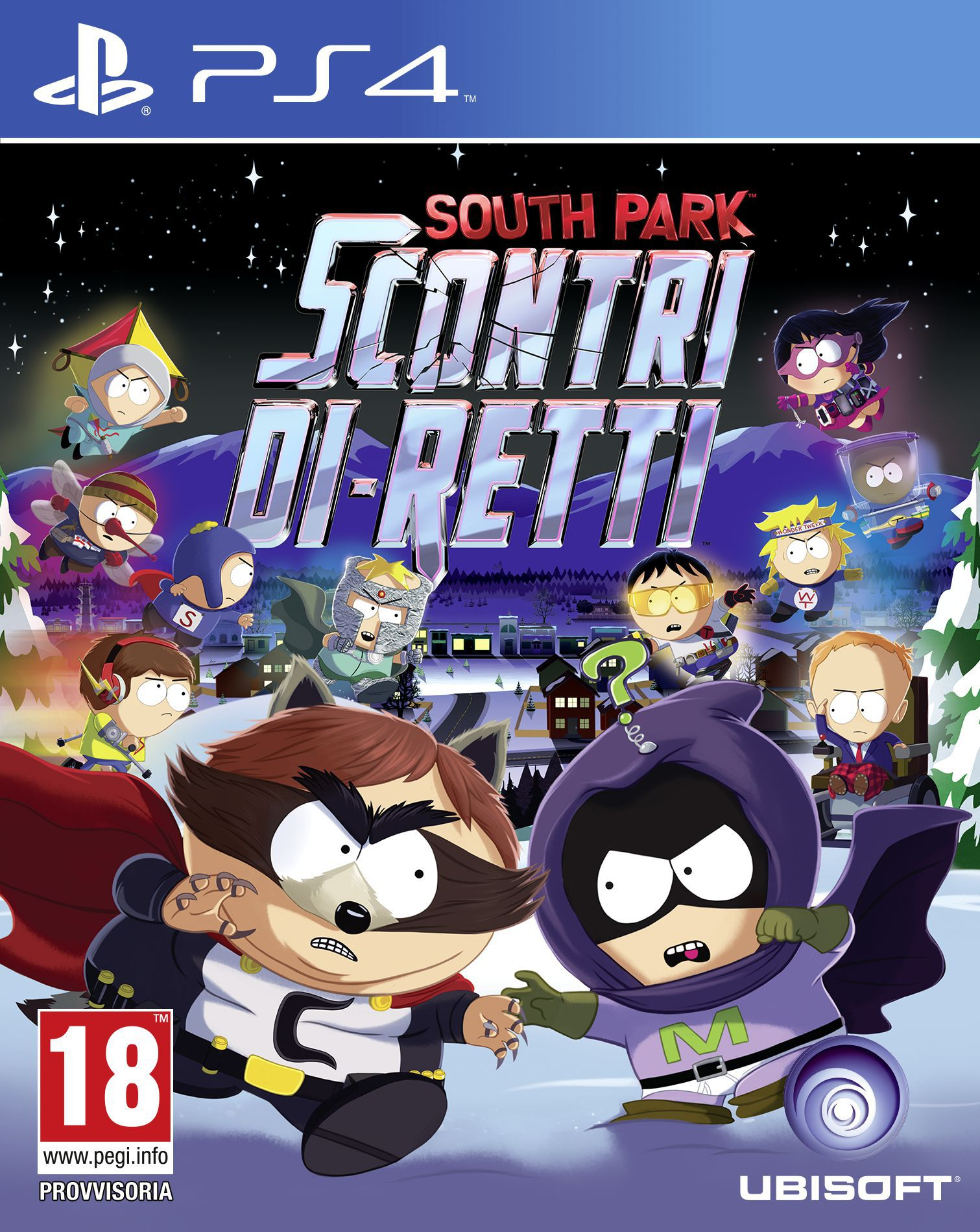 Cover South Park: Scontri Di-Retti