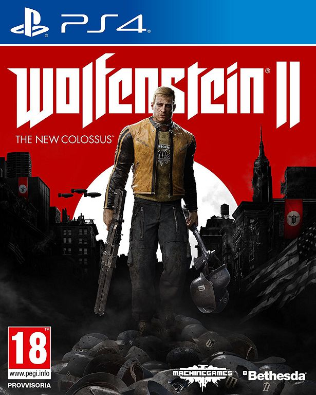 Cover Wolfenstein II: The New Colossus