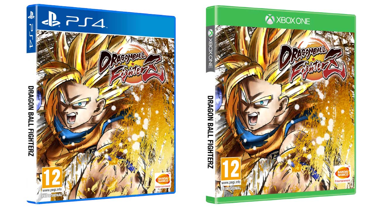 Dragon Ball FighterZ retail mockup
