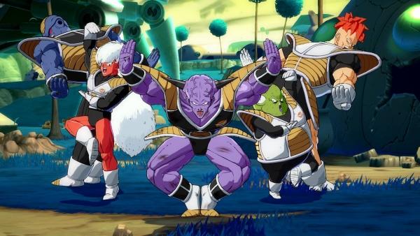 Dragon Ball FighterZ - Nuove immagini di Ginyu e Nappa