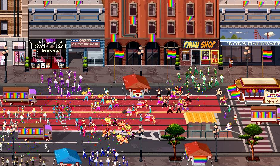 PRIDE RUN sarà il videogioco più gay di sempre
