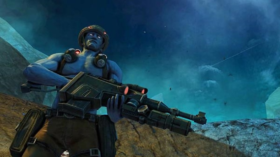 "Trailer gameplay ""101"" per Rogue Trooper Redux"