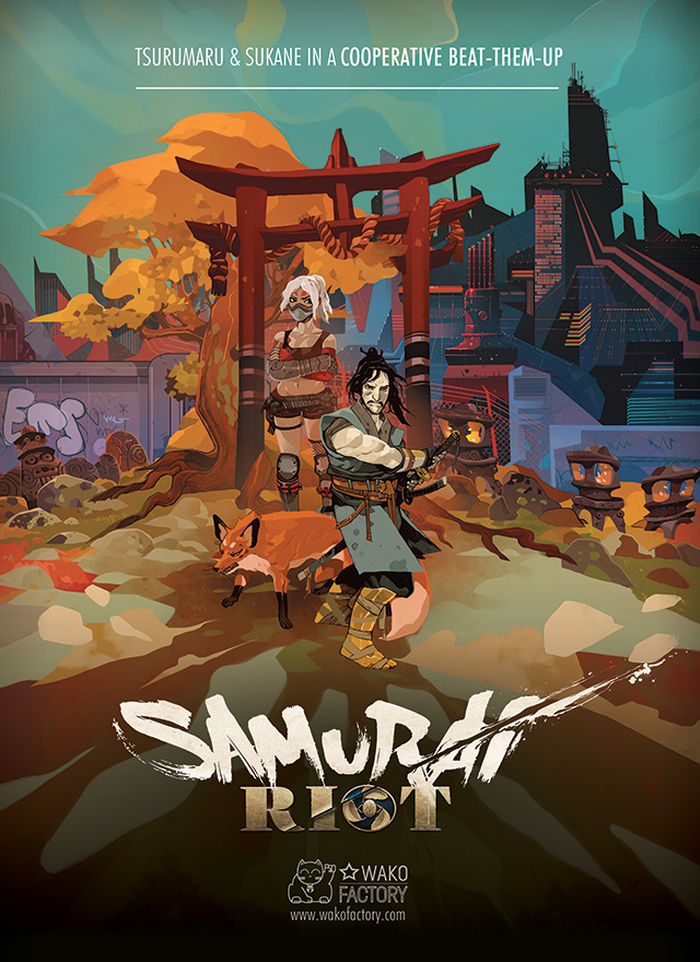 Cover Samurai Riot