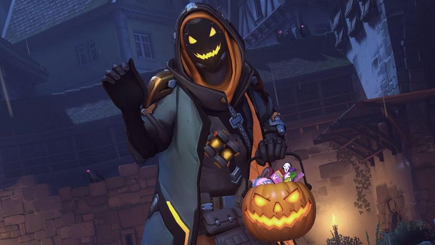 Overwatch: trapelate nuove skin di Halloween
