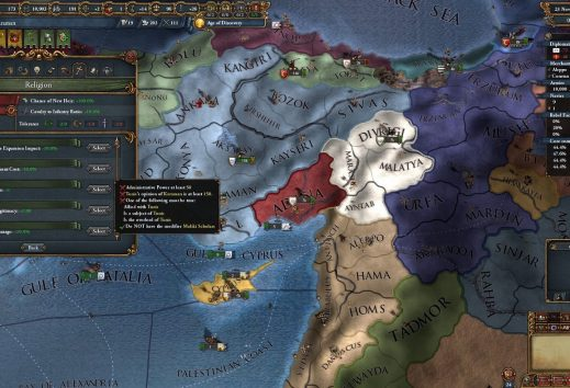 Europa Universalis 4: Cradle of Civilization - Recensione