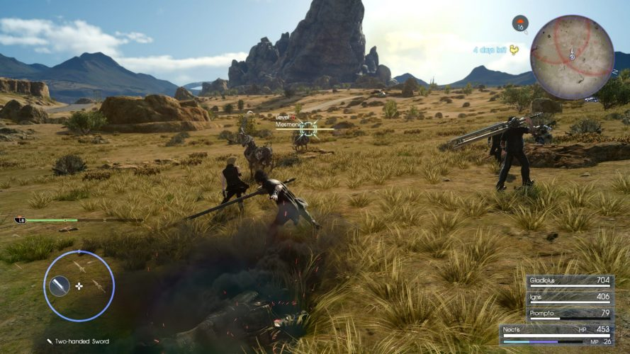 final fantasy xv su xbox one x