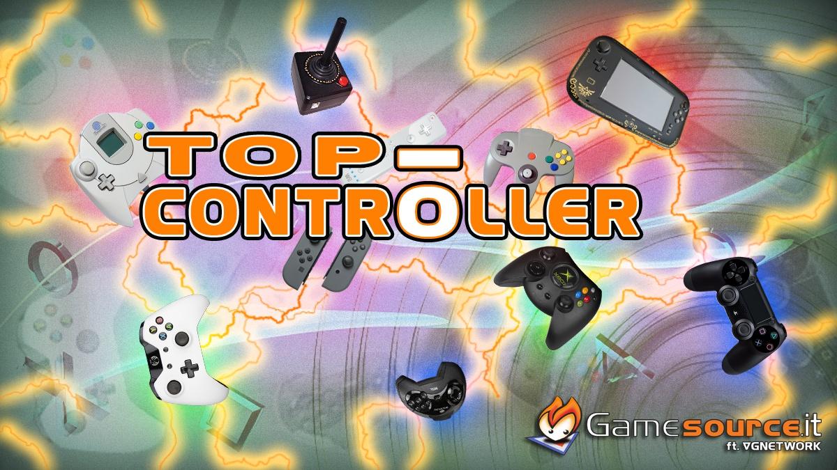 CLASSIFICA: I 10 migliori controller della storia dei videogames