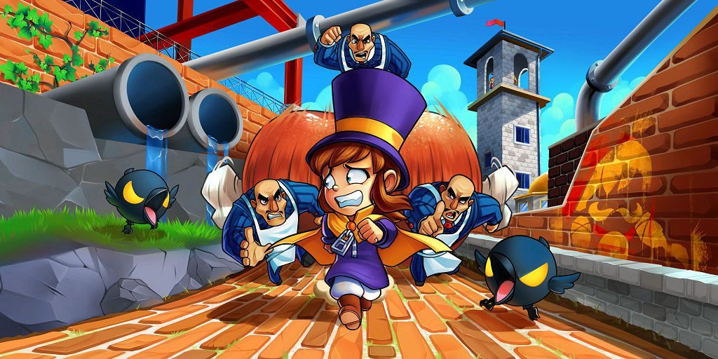 a hat in time console